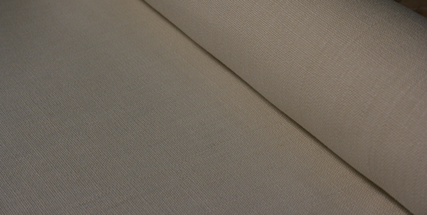 Hemp Canvas - Taupe/ Natural color - Tightly woven 100 % Hemp Canvas.