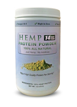 50 lb Hemp Protein Powder - Free Shipping