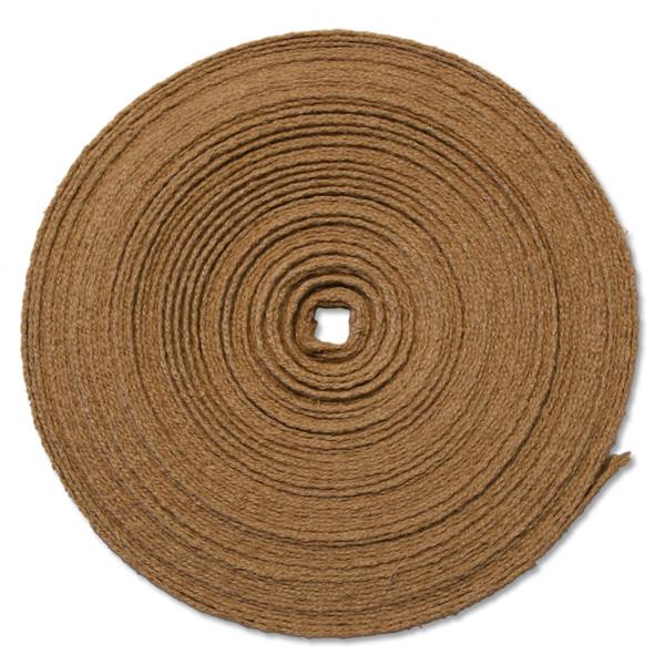 "5/8"" Romanian hemp webbing 25 meter spool"