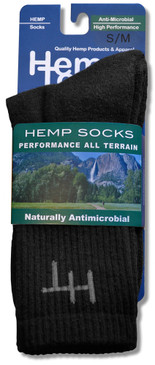 Hemptopia Hemp Socks Front View