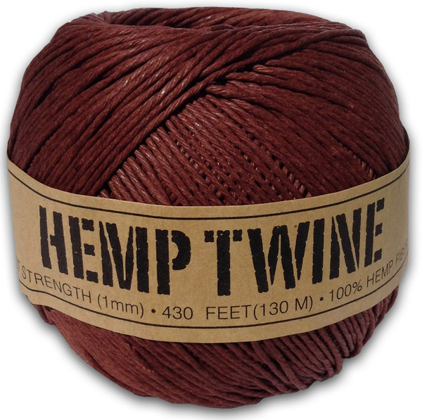 Brown Hemp Twine