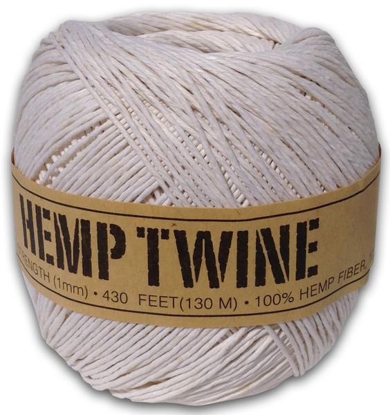 White Hemp Twine