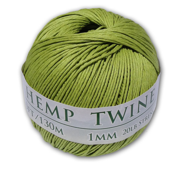 Lime Green Hemp Twine