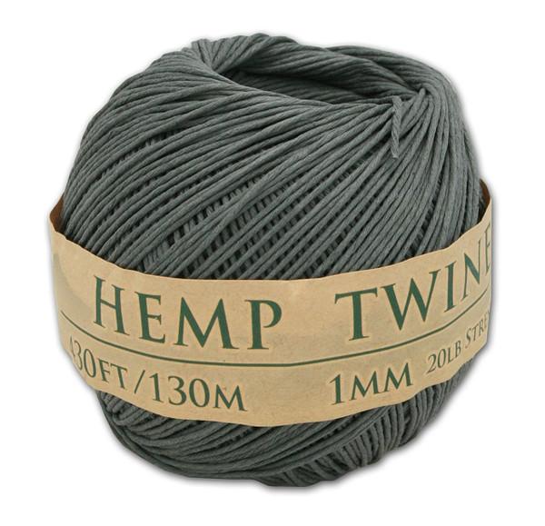 grey hemp twine