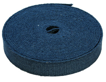 Blue Hemp Webbing