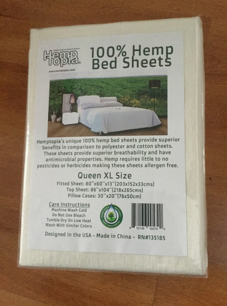 Hemp Bed Sheets