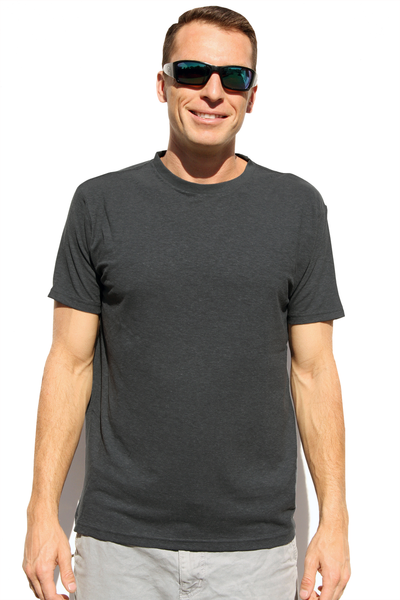 Men's Gray Hemp T-Shirt