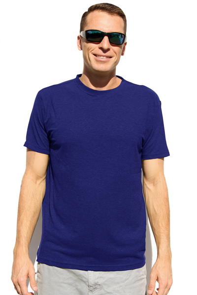 Men's Blue Hemp T-Shirt