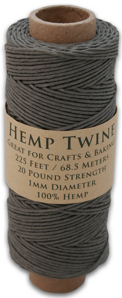 Gray Hemp Twine Spool