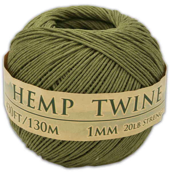 Truly Olive Hemp Twine Ball