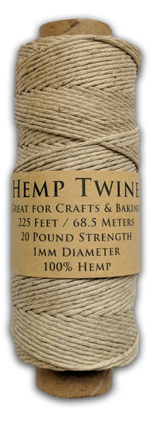 Natural Hemp Twine Spool