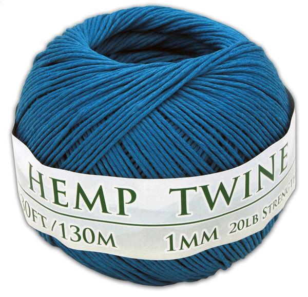 blue hemp twine