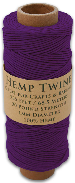 Purple Hemp Twine Spool