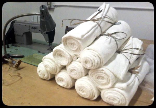 Made in U.S.A hemp towels