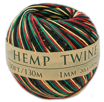 Rasta Hemp Twine Ball