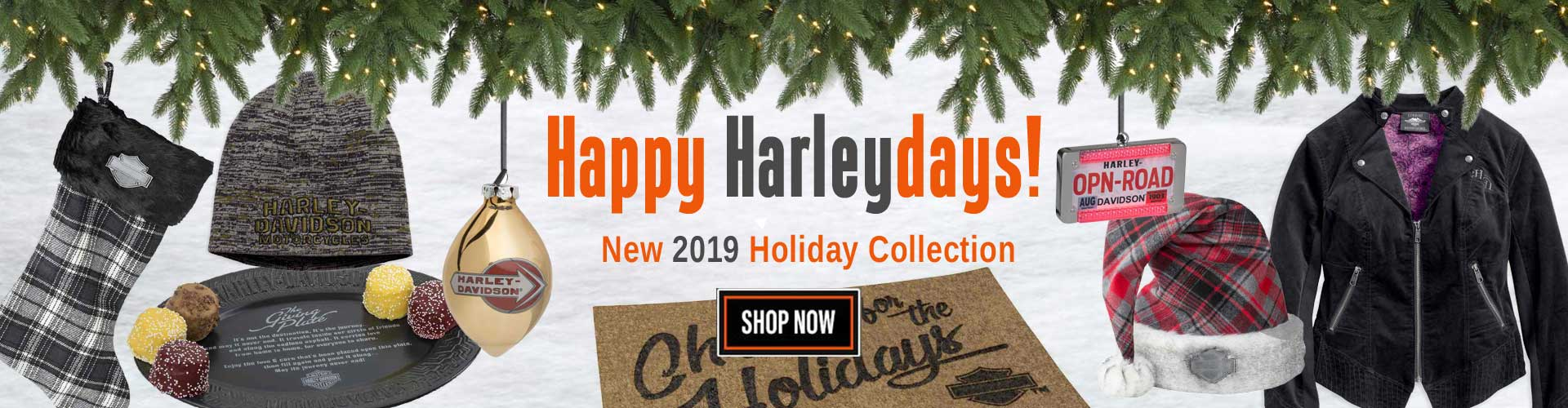 Shop Harley-Davidson for the Holidays