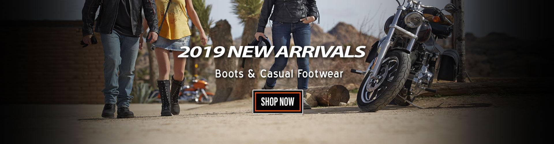 Shop New Harley-Davidson Footwear, Boots, Shoes, Socks