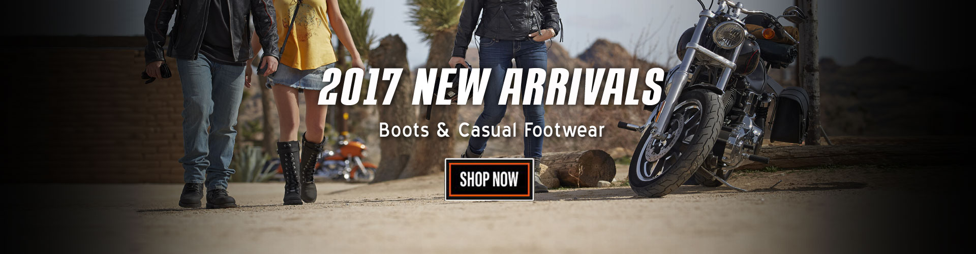 2017 Harley-Davidson Footwear and Boots