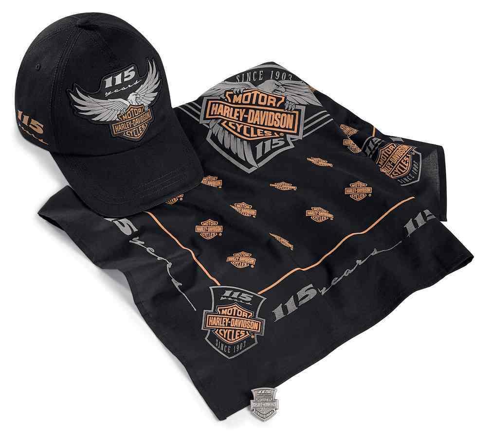 Harley-Davidson® 115th Anniversary Clothing and ...