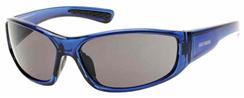 Blue Frame Sunglasses