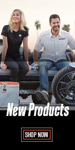 Shop New Harley-Davidson Clothing, Parts and Accessories