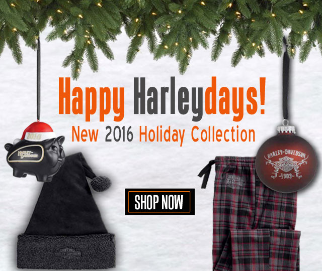 Shop the 2017 Harley-Davidson Holiday Collection