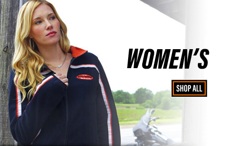 Shop Harley-Davidson Women's Clothing and Accessories at Wisconsin Harley-Davidson