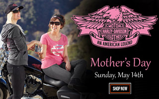 Harley-Davidson Mothers Day 2017 Gift Ideas for Harley Mom