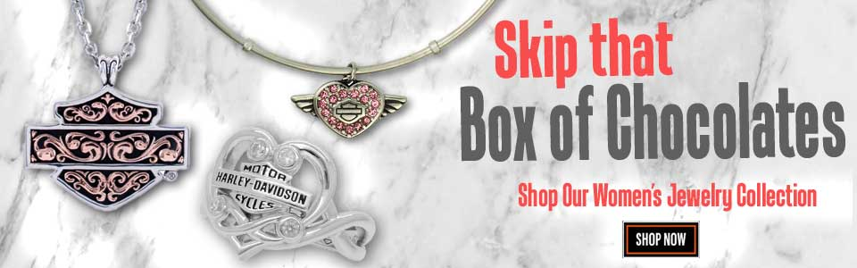 Harley-Davidson Valentines Gifts, Jewelery and Clothing Available Now from Wisconsin H-D
