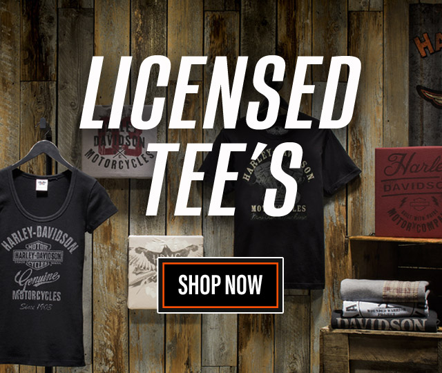 Save on Harley-Davidson T-Shirts