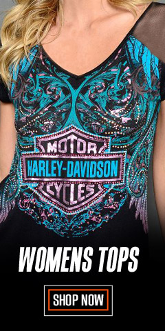 Womens Harley-Davidson Clothing, Shoes and Accessories