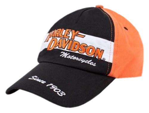 Harley-Davidson® Big Boys' Baseball Cap, Youth H-D Prestige Twill Hat 0280282 - Wisconsin Harley-Davidson
