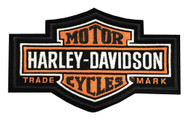 Harley-Davidson® Long bar & Shield Medium Patch, 7-1/4'' W x 4-3/8'' H EMB312383