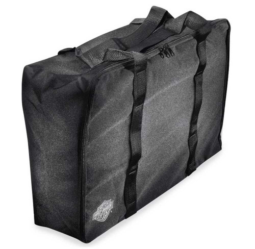 Harley-Davidson® Bar & Shield Zippered Chopped Tour-Pak Travel Bag Black 91783-96