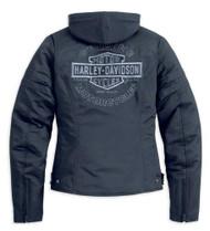 Harley-Davidson® Women's Miss Enthusiast Outerwear Jacket, Black 98519-12VW - Wisconsin Harley-Davidson