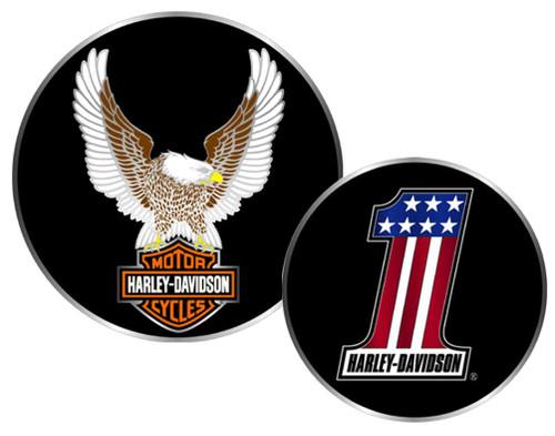 Harley-Davidson® #1 Winged Eagle Bar & Shield Challenge Coin 1.75'' 8002954