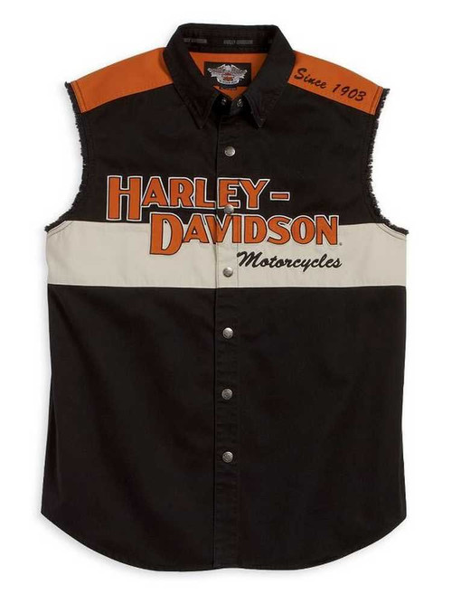 Harley Davidson Garage Women Shirt Top