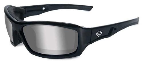 Harley-Davidson® Echo Silver Lens w/ Gloss Black Frame Sunglasses HDECH02 - Wisconsin Harley-Davidson