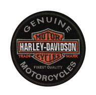 Harley-Davidson® Emblem, Long Bar & Shield, Small Size Patch EM312642