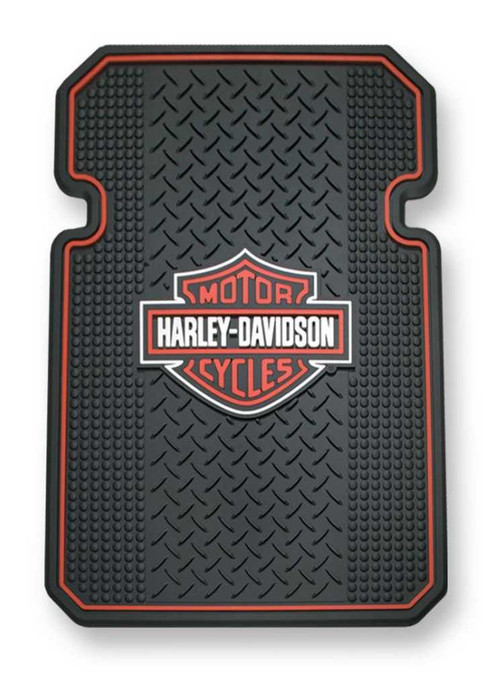 Harley-Davidson® Bar & Shield Universal-Fit Molded Front Floor Mats Set of 2 P666 - Wisconsin Harley-Davidson