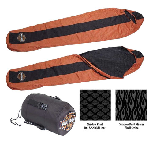 Harley-Davidson® Bar & Shield Sleeping Bag, Durable & Lightweight HDL-10017 - A