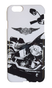 Harley-Davidson® iPhone 6 Shell, Winged Bar & Shield Motorcycle, White 06942
