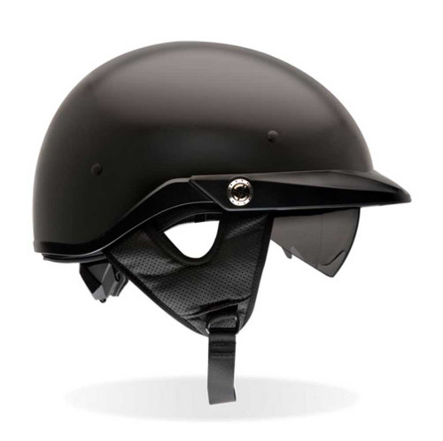 BELL Pit Boss Ultra-Light Motorcycle Helmet w/ Sun Shade Matte Black 2033 - A