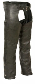 Milwaukee Leather Men's Basic Coin Pocket Leather Chaps SH1115