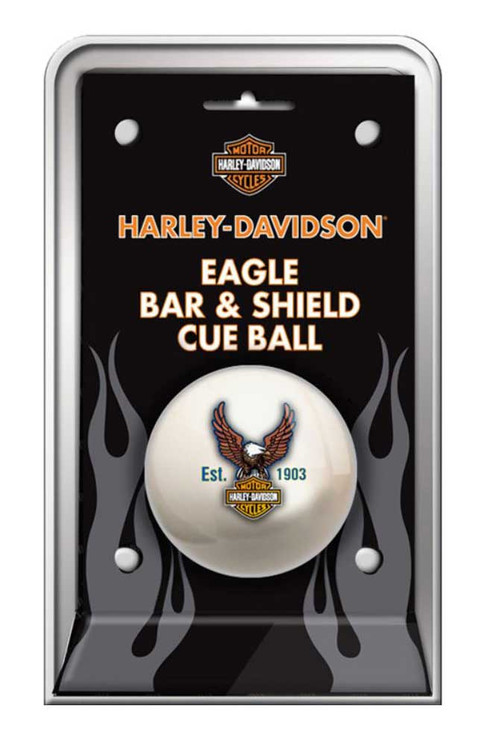 Harley-Davidson® Bar & Shield Eagle Cue Ball HDL-11149