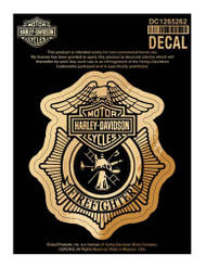 Harley-Davidson® Firefighter Original Decal, Small Size DC1265262