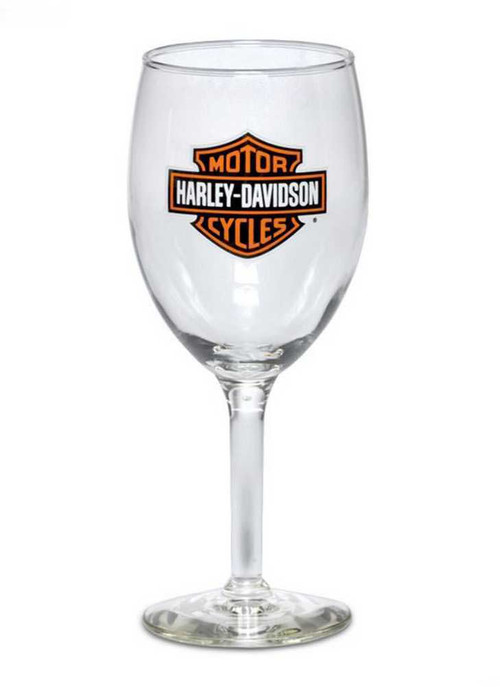 Harley-Davidson® Bar & Shield Logo Wine Glass 18.5 oz Barware Glassware 99310-13V