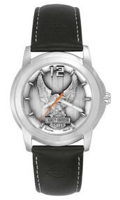 Harley-Davidson® Men's Bulova Eagle Wrist Watch 76A12 - A