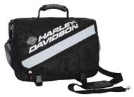 Harley-Davidson® X-Treme Reflective Stripe Messenger Bag, Nightvision 99216