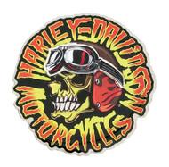 Harley-Davidson® Kustom Built Motorcycle Skull Pin, Stainless Steel P049944